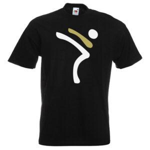 Kicking Man BIG Logo white-and-gold-on-BLACK-2R