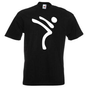 Kicking Man BIG Logo white-on-BLACK-2R