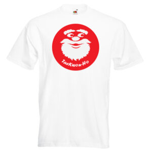 """TaeKwon-Ho"" Taekwondo Father Christmas T-Shirt"