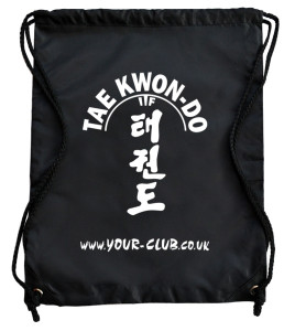 Taekwondo personalised bag
