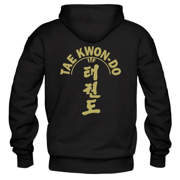 Taekwondo Black Hoodie