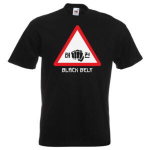 Warning Black Belt