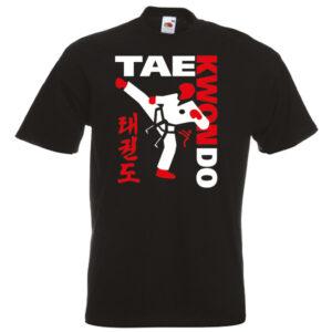 Black TAEKWONDO T-shirt