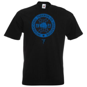 blue itf logo T-Shirt