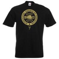 gold ITF logo T-Shirt
