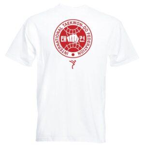 red itf logo T-Shirt